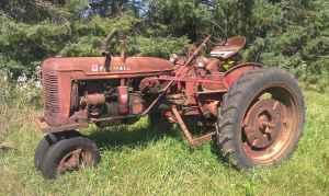ih farmall super c tractor  1951 1954   stevens point