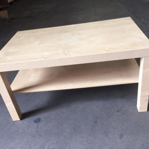 Ikea Coffee Table Birch Effect (USED) -Minor table
