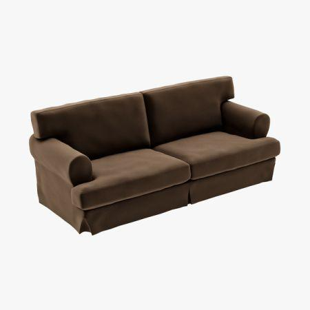 Pleasant Ikea Ekeskog Sofa Cover Brown Suede New New New For Sale Pdpeps Interior Chair Design Pdpepsorg