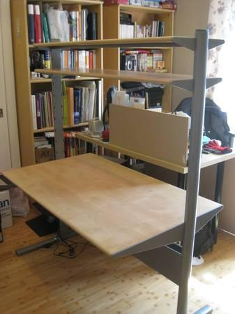 Ikea fredrik height adjustable desk for sale in palo for Www ikea com palo alto