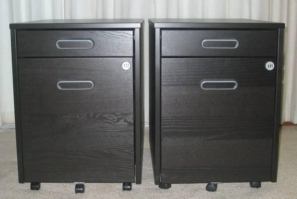 IKEA Galant File Cabinet Black Brown   $35