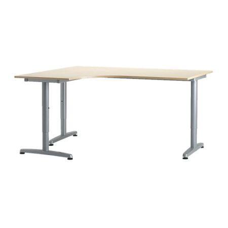Ikea Galant Left Corner Desk T Leg Extension 95