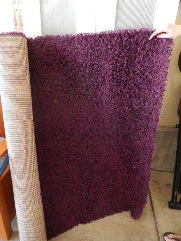 Ikea Hampen Area Rug Purple 4 By 6
