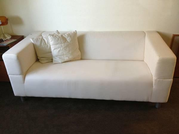 ikea klippan 2 person loveseat couch for sale in san bruno california classified. Black Bedroom Furniture Sets. Home Design Ideas