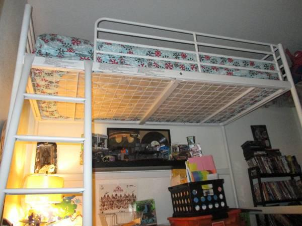 Ikea Loft Bed Frame White Tromso For Sale In Glendale Arizona