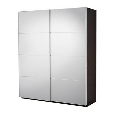 Ikea Pax System W Sliding Doors 5 Drawers Shelves