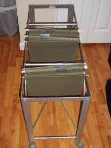 ikea rolling hanging file holder harrisburg for sale
