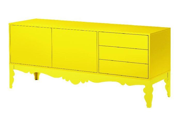 IKEA Trollsta Sideboard In Yellow For Sale In Pleasanton