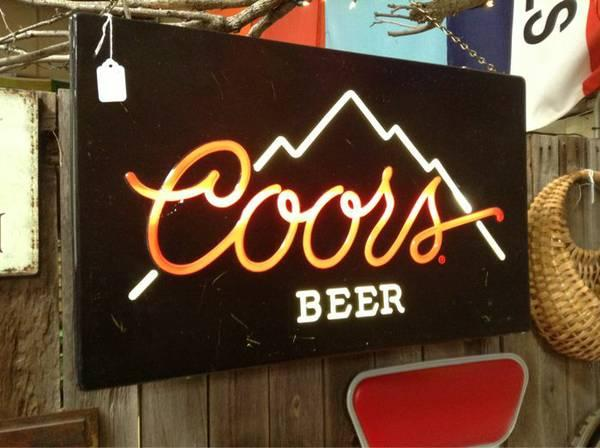 Illuminated classic Coors indication - $135
