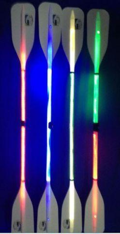 Illuminated Kayak Paddle, Red, Blue, Green, Yellow or