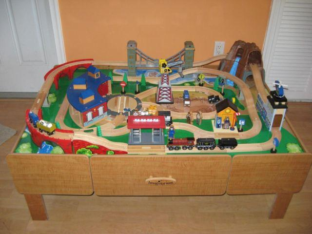 Imaginarium Train Table With Expansion Packs More Trains