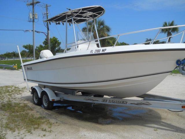 Immculate 2003 Angler 220f Center Console For Sale In