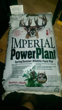 IMPERIAL POWER PLANT DEER FOOD PLOT SPRING SUMMER NEW -