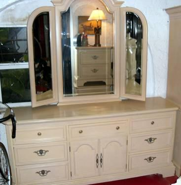 Impressions By Thomasville Bedroom Set Dresser Mirror