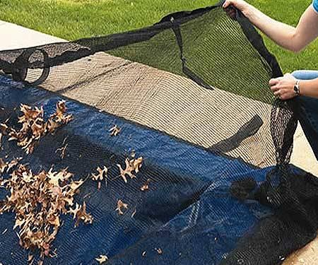 In Ground Leaf Net Pool Cover 14 X28 For Sale In Cliff