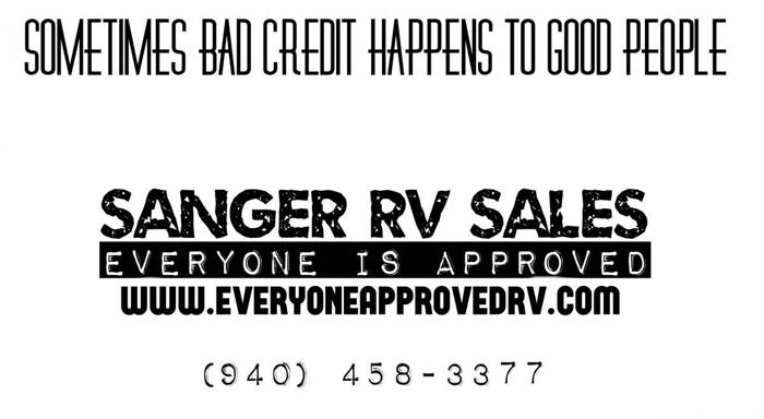 IN HOUSE FINANCED RV'S EVERYONE IS APPROVED