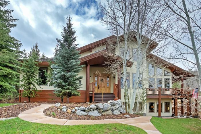 In Town Location With Privacy, Ski Hill Views and An