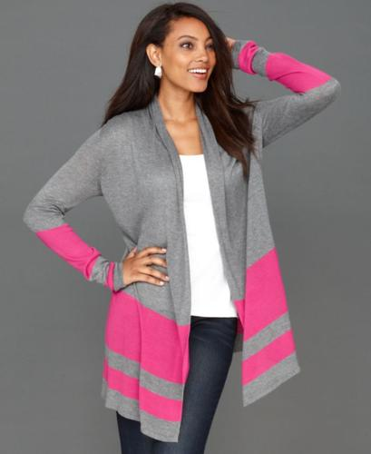 INC International Concepts Cardigan, Long-Sleeve