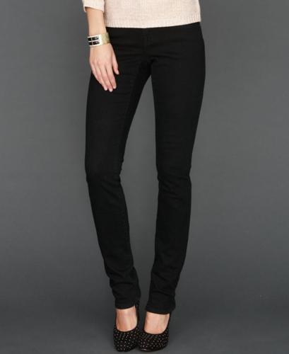 INC International Concepts Jeans, Skinny, Black Wash