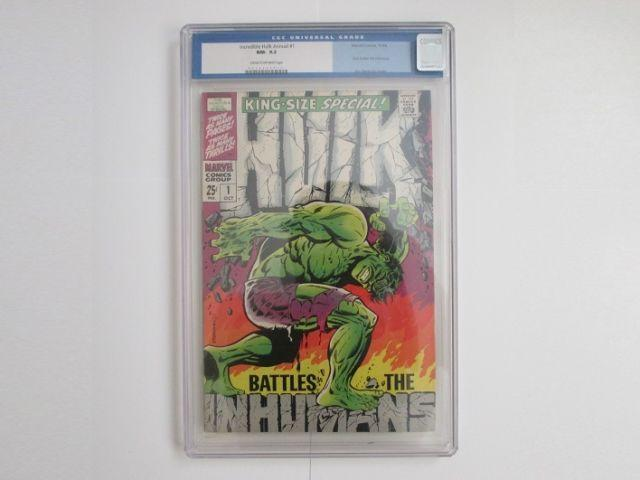 Incredible HulkAnnual #1 - (1968)/( CGC 9.2)