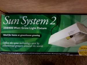 Indoor Grow Setup Hps Grow Light W Bulbs Grow Tent