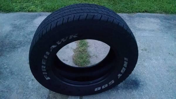 Tire Sale Raleigh Nc >> Indy 500 Firehawk 235 60 R15 Tire for sale - for Sale in Newport, North Carolina Classified ...