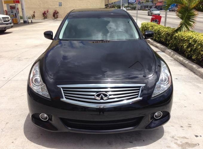 infiniti g25 2012 for sale in miami florida classified. Black Bedroom Furniture Sets. Home Design Ideas
