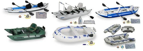Inflatable Sea Eagle Boats at Valley Sports