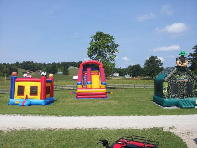Inflatables Set with Trailer