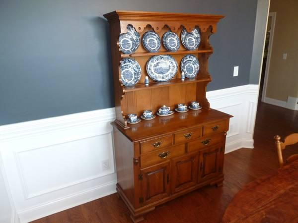 inform town hutch hard rock maple vintage for sale in