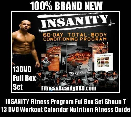 Insanity can transform your body in just 60 days - for Sale in