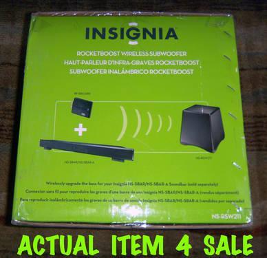 Insignia 6-1//2 Powered Wireless.