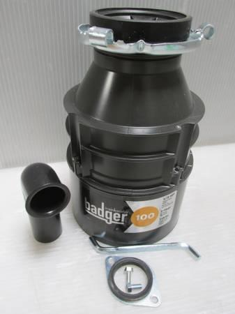 badger 100 13 hp continuous feed garbage