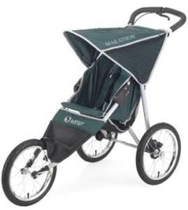 InStep Marathon Single Jogging Stroller- Three Wheeled ...