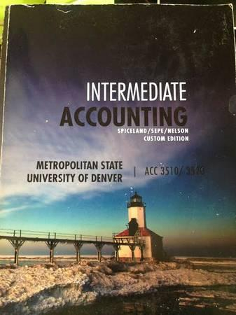 Intermediate Accounting I & II