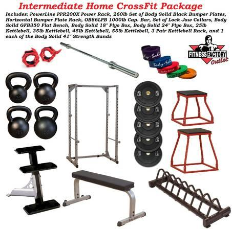 Intermediate Crossfit Package New For Sale In Aurora