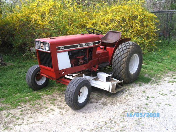 International 184 Tractor : International tractor mower mounds area for sale