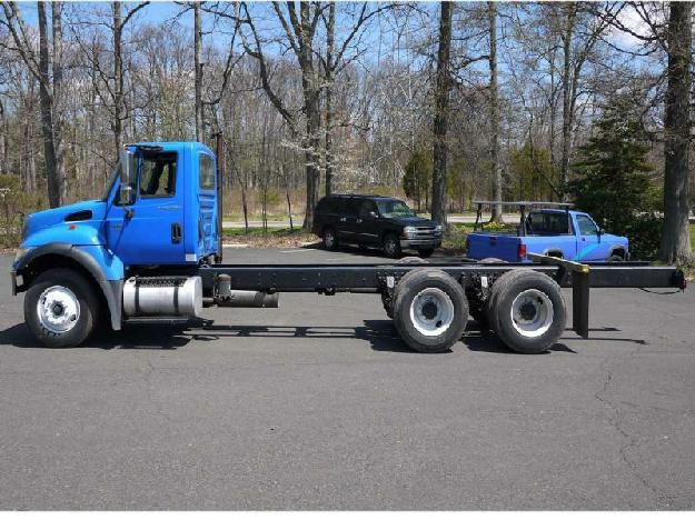 International 7500 cab chassis truck for sale