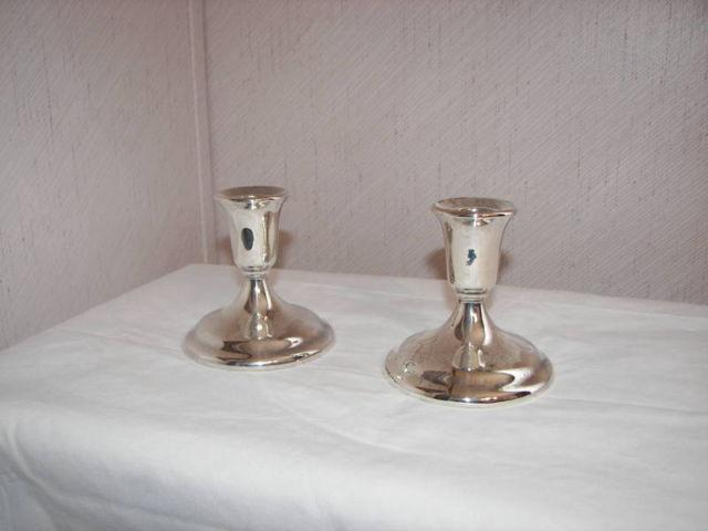 International Silver Company candle holders