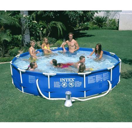 Intex 12\' x 30\' Metal Frame Pool Set for Sale in Nashville ...