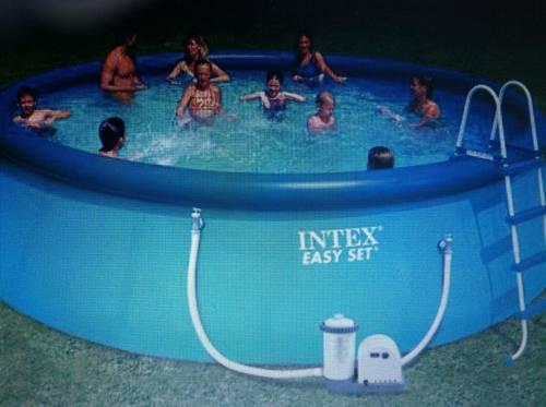 Intex 18 39 X 48 Easy Set Swimming Pool For Sale In Bowling Green Indiana Classified
