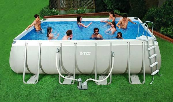 Intex 18x9 Ultra Frame Rectangular Pool For Sale In Fowler Indiana Classified