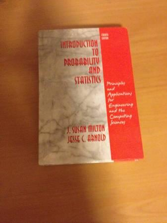 Introduction to Probability and Statistics VT Textbook - $40