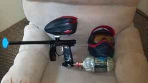 Invert Mini, Dye Rotor, Cross 6845, Dye i3 Goggles - $400