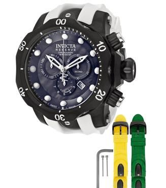 INVICTA 11156 Reserve Venom Ocean Quest II Chrono - With Band Kit - $275