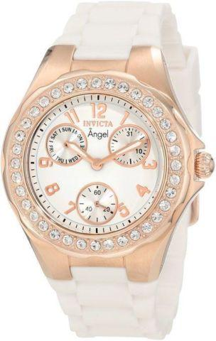 Invicta Women's 1644 Angel Jelly Fish Crystal Accented