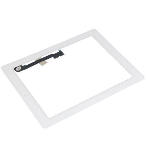 iPad 3 4 4th Gen WHITE Glass Touch w/ Screen Digitizer