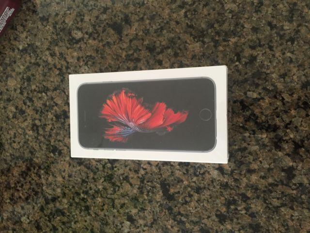 iPhone 6S 16GB Sealed Factory Unlocked Space Grey -