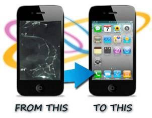 iPhone, iPod, Android & Tablet Cracked TouchScreen