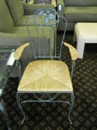 Genial Iron Chairs Set Of 2   $100 (60/40 Furniture
